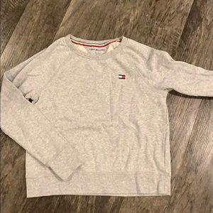Tommy Hilfiger light grey sweater